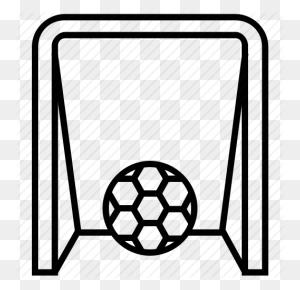 Football Goal, Football Goal Post, Football Net, Goal, Goal Net - Soccer Goal PNG