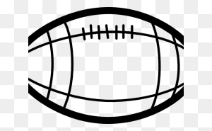 Football Outline Clipart Printable Football Template Football - Pencil Outline Clipart