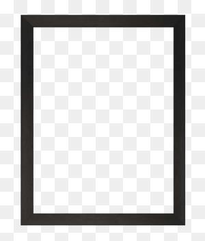 Frames Black, White Oak Perspex Frames The Art Hanger - White Frame PNG