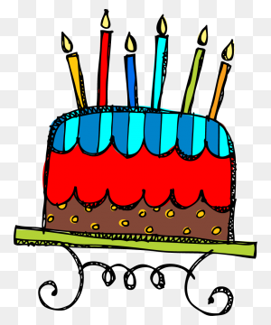 Free Birthday Birthday Clipart On Happy Birthday Clip Art - Melonheadz Math Clipart