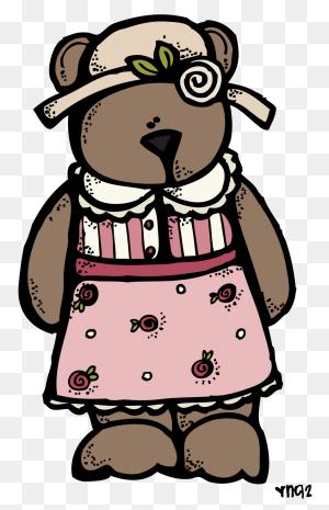 Free In Bw Monica Clip Art, Teddy Bear And Bears - Teddy Bear Clip Art Free