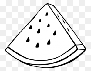 Free Watermelon Clipart Png, Watermelon Icons - Watermelon Black And White Clipart