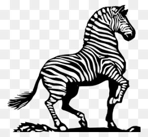 Free Zebra Clipart Png, Zebra Icons - Zebra Clipart