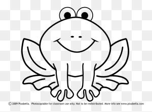 Frog Black And White Tree Frog Clip Art Black And White Free - Lungs Clipart Black And White