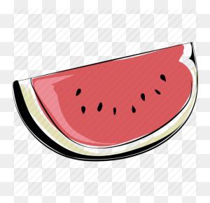 Fruit, Healthy Diet, Nutrition, Organic, Watermelon, Watermelon - Watermelon Slice PNG