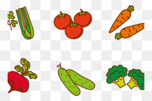Fruits And Vegetables Clipart Png Png Image - Fruits And Vegetables PNG