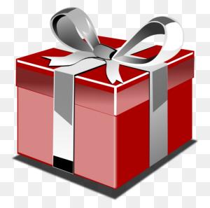 Gift Clipart Christmas Graphics Gift Birthday Present Clip Art Png - Christmas Birthday Clipart
