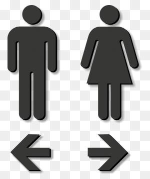 Girls Clipart Restroom, Girls Restroom Transparent Free - Girl Bathroom Clipart