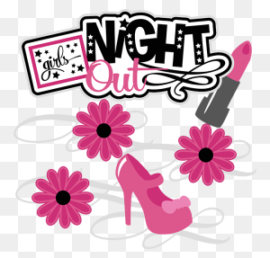 Girls Night Out Scrapbook Collection Girls Night Scrapbook - Girls Night Clipart
