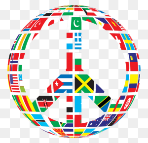 Globe Flags Of The World Gallery Of Sovereign State Flags Free - World Flags Clipart