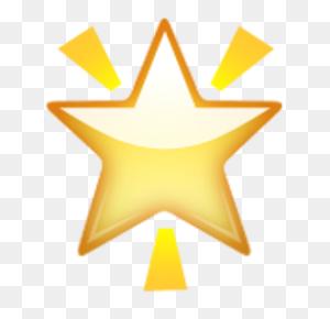 Glowing Star Emojis !!! Emoji, Star Emoji And Stars - Star Emoji PNG