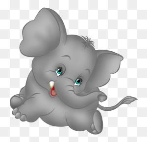 Grey Elephant Cartoon Free Clipart Elephants Roll Tide Big All - Elephant Clipart Transparent