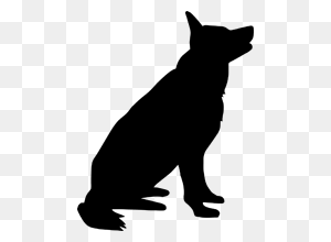 Gsd Stencil Dogs Stencils, Free Stencils And Dogs - German Shepherd Clipart