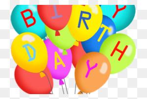 Happy Birthday Balloons Clipart Happy Birthday World - Happy Birthday Balloons Clip Art