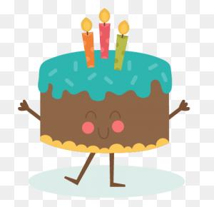 Happy Birthday Cake Scrapbook Birthday Birthday - Birthday Cake PNG
