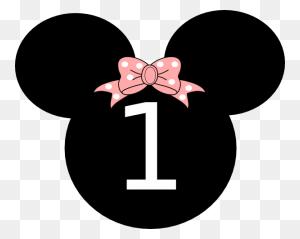 Happy Birthday Clip Art Birthday Minnie Clip Art Brooke - Mickey Mouse 1st Birthday Clipart