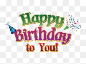 Happy Birthday Png Happy Birthday World - Happy Birthday PNG Text