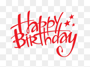 Happy Birthday Png Text Download Happy Birthday Png Images - Happy Birthday Text PNG