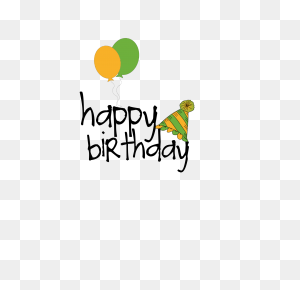 Happy Birthday Word Art Happy Birthday, Birthday - Happy Birthday PNG Images