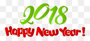 Happy New Year Happy New Year - New Year 2018 Clipart