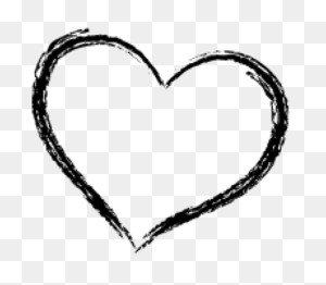 Cartoon Doodle Hand Drawn Heart Shape Icon Heart Doodle Png