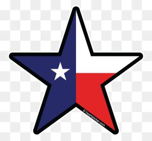 Heart In Texas Tx Sticker Lone Star Sticker The Heart Sticker - Texas Shape PNG