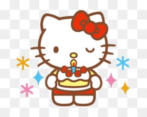 Hello Kitty Happy Birthday Png Happy Birthday World - Happy Birthday PNG Images