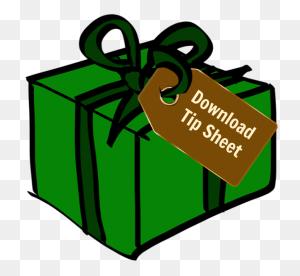 Holiday Gifts To Bring Wildlife Cheer To Anyone's Yard Habitat - Christmas Gift Tag Clipart