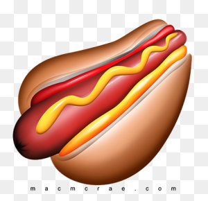 Hot Dogs Clipart Fast Food - Hot Dogs PNG