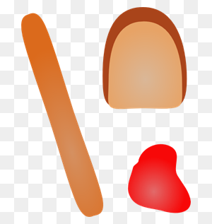 Hot Dogs With Breakd And Ketchup Png, Clip Art For Web - Hot Dogs PNG