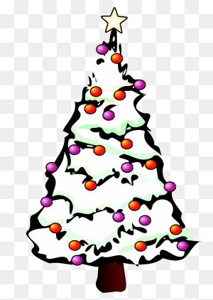 Howling Tree Emoji Tree Freeuse Download Black Collection Tree - Christmas Tree Emoji PNG