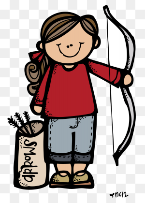 Illustrating Girls Camp Illustrations Girl Scout Camping - Girl Scout Clip Art