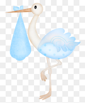 It`s A Girl Babies Baby, Baby - Stork And Baby Clipart
