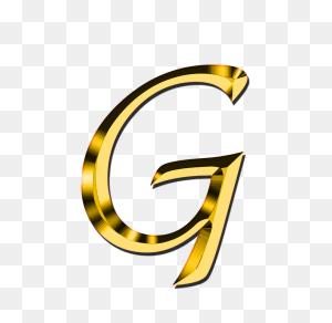 Letter G Hd Png Transparent Letter G Hd Images - Gold Letters PNG
