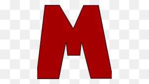 Letter M Clipart Red Letter M Clip Art Red Letter M Image - Letter M Clipart