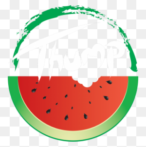 Luling Watermelon Thump Since - Watermelon Black And White Clipart