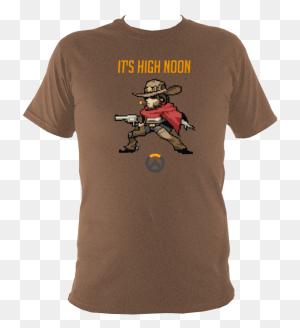 Mccree Overwatch T Shirt Starcrash Designs - Mccree PNG
