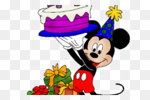 Mickey Mouse Birthday Background Png Happy Birthday World - Mickey Mouse Birthday PNG