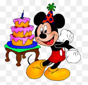 Mickey Mouse Birthday Cake Disney Mickey Mouse - Mickey Mouse Birthday PNG