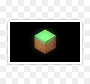 Minecraft Block Minecraft Stickers Minecraft - Minecraft Dirt Block PNG