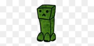 Minecraft Explore Minecraft - Minecraft Creeper Clipart