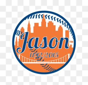 Mitzvah Logos And Sweet Sixteen Logos - Mets Logo PNG