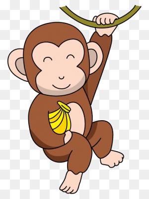 Monkey Clipart Monkey Animal Clip Art Monkey Photo - Hanging Monkey Clipart