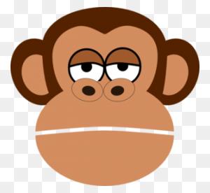 Monkey Face Monkey Clip Art Images Clipart - Baby Monkey Clipart