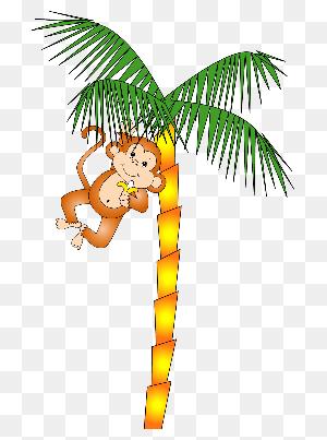 Monkey Images Jungle Monkey - Swinging Monkey Clipart