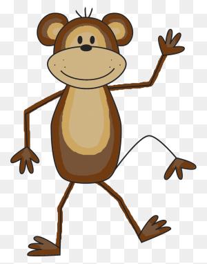 Monkey With Heart Clipart Clipart Monkey With Heart Clipart Clip - Spider Monkey Clipart