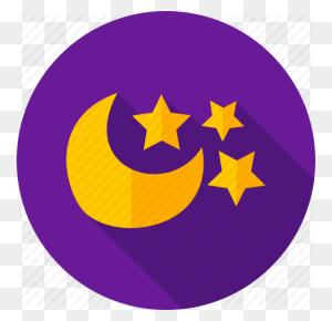 Moon, Night, Night Sky, Sky, Star, Weather Icon - Night Sky PNG