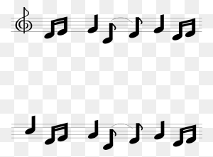 Music Notes Clip Art Borders Music Note Borders Free Clip Art - Music Notes Border Clipart