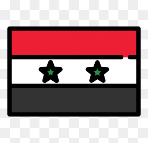 Nation, World, Flag, Flags, Country, Syria Icon - World Flags Clipart