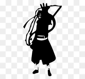Obito Uchiha Silhouettes Silhouettes Of Obito Uchiha Free - Obito PNG